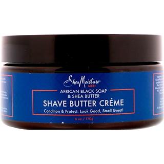 Shea Moisture, African Black Soap & Shea Butter, Shave Butter Creme, 6 oz (170 g)