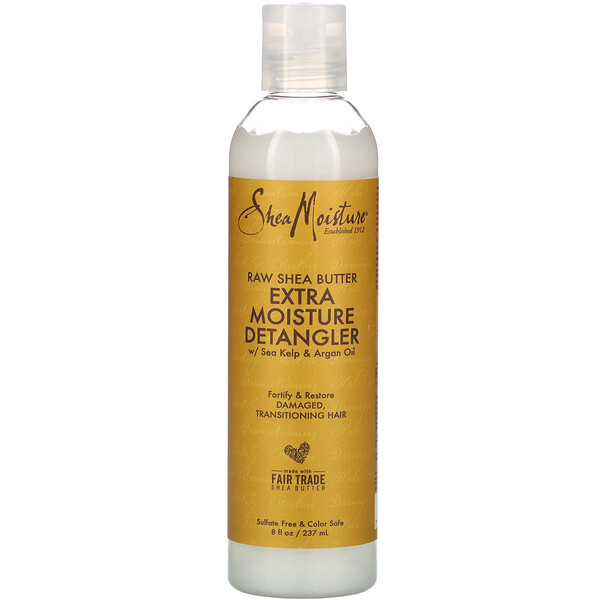 SheaMoisture, Raw Shea Butter Extra Moisture Detangler, 8 fl oz (237 ml)
