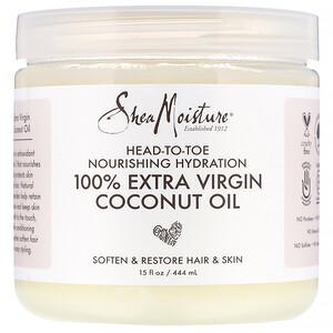 Ши Мойстчэ, Head-To-Toe Nourishing Hydration, 100% Extra Virgin Coconut Oil, 15 fl oz (444 ml) отзывы покупателей