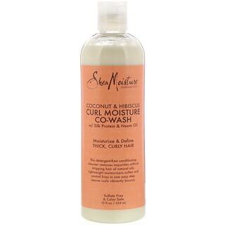 SheaMoisture, Curl Moisture Co-Wash, Coconut & Hibiscus, 12 fl oz (354 ml)