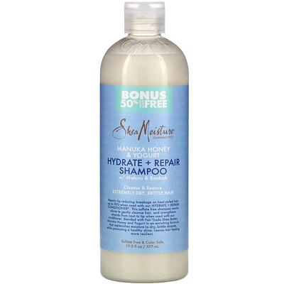 SheaMoisture Manuka Honey & Yogurt, Hydrate & Repair Shampoo, 19.5 fl oz (577 ml)