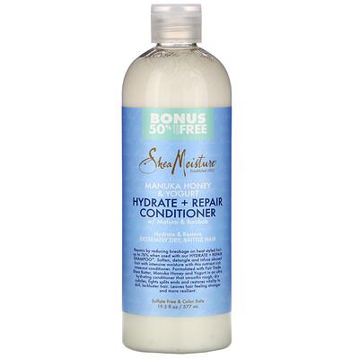 SheaMoisture Manuka Honey & Yogurt, Hydrate & Repair Conditioner, 19.5 fl oz (577 ml)