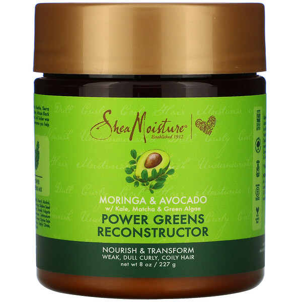 SheaMoisture, Power Greens Reconstructor, Moringa & Avocado, 8 oz (227 g)