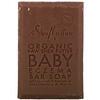 SheaMoisture, 赤ちゃんのやさしく洗える石鹸、生シアバター・カモミール&アルガンオイル、5オンス (141 g)