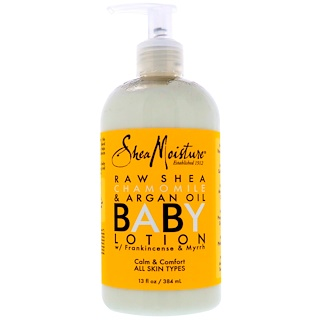 Shea Moisture, Baby Lotion, with Frankincense & Myrrh, All Skin Types, 13 fl oz (384 ml)