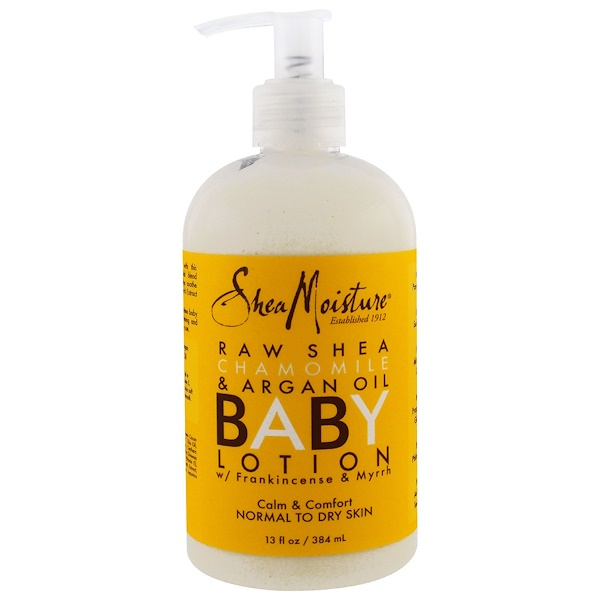 Shea Moisture, Baby Lotion, with Frankincense & Myrrh, Normal to Dry Skin, 13 fl oz (384 ml)