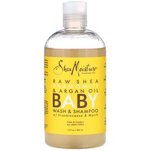 Ши Мойстчэ, Baby Wash & Shampoo, With Frankincense & Myrrh, 13 fl oz (384 ml) отзывы