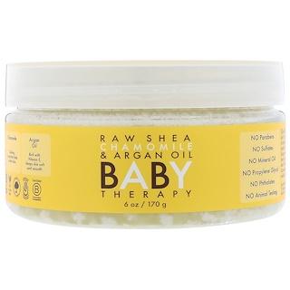 Shea Moisture, Terapia para el bebe, karité pura, manzanilla y aceite de argán, 6 oz (170 g)