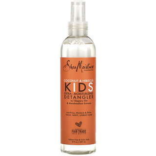 SheaMoisture, Kids Extra-Moisturizing Detangler, Coconut & Hibiscus, 8 fl oz (237 ml)
