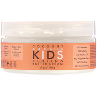 SheaMoisture, Coconut & Hibiscus, Kids Curling Butter Cream, 6 oz (170 g)
