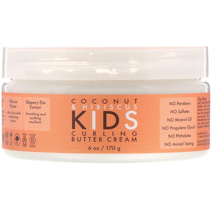 SheaMoisture, Coconut & Hibiscus, Kids Curling Butter Cream, 6 oz (170 g)'