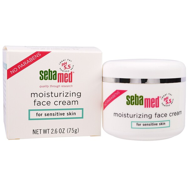 Sebamed USA, Moisturizing Face Cream, 2.6 oz (75 g)