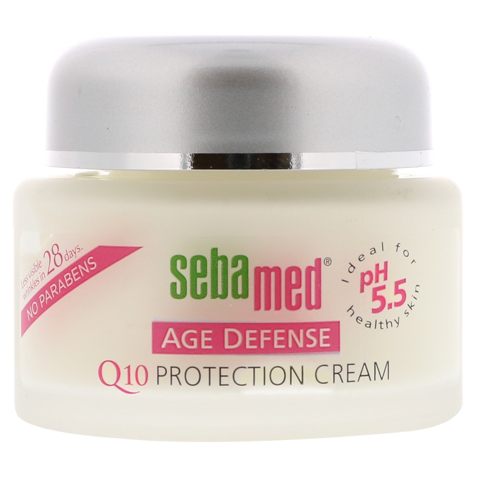 Physician Laboratories Seba Med Age Defense Protection Cream, 1.69 oz Sea Breeze Astringent Original Formula, Classic Clean 10 oz (Pack of 2)
