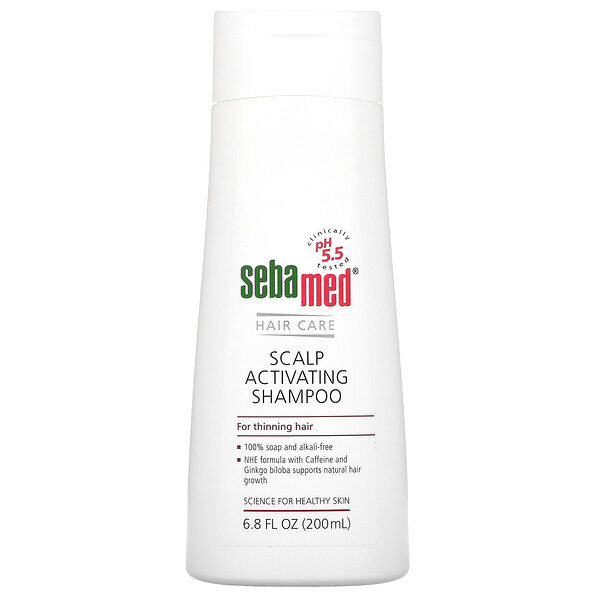 Scalp Activating Shampoo For Thinning Hair, 6.8 fl oz (200 ml)
