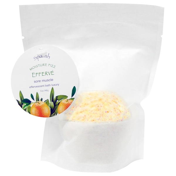 Smith & Vandiver, Spa..ah Moisture Fizz, Sage-Citrus, 5 oz (140 g) (Discontinued Item)