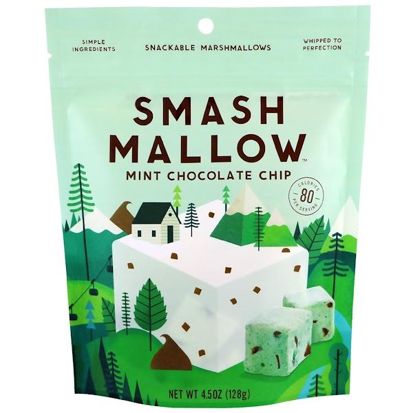 SmashMallow, Mint Chocolate Chip, 4.5 oz (128 g)