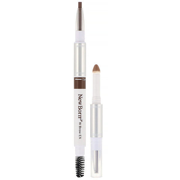 Sana, New Born, Eyebrow Powder & Pencil, B7 Marron Brown , 1 Piece