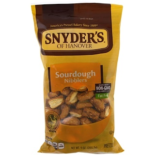 Snyder's, プレッツェル、サワードウニブラー、9オンス (255.2 g)