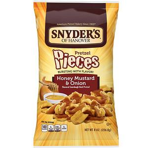 Снидерс, Pretzel Pieces, Honey Mustard & Onion, 8 oz (226.8 g) отзывы покупателей