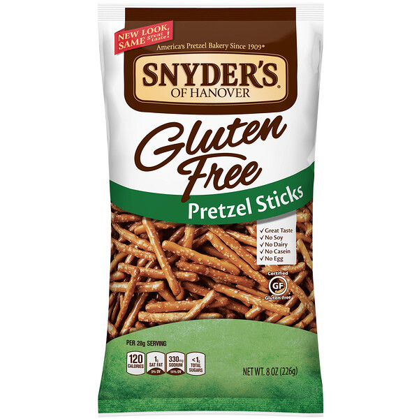 Gluten Free Pretzel Sticks, 8 oz (226 g)