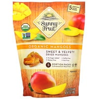 Sunny Fruit, Organic Mangoes, 5 Portion Packs, 0.7 oz (20 g) Each