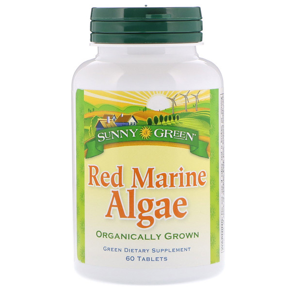 Sunny Green, Red Marine Algae, 60 Tablets (Discontinued Item)