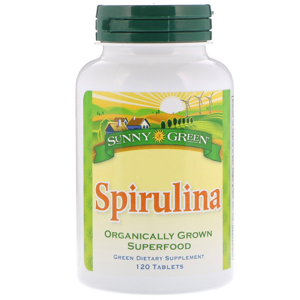Spirulina, 120 Tablets