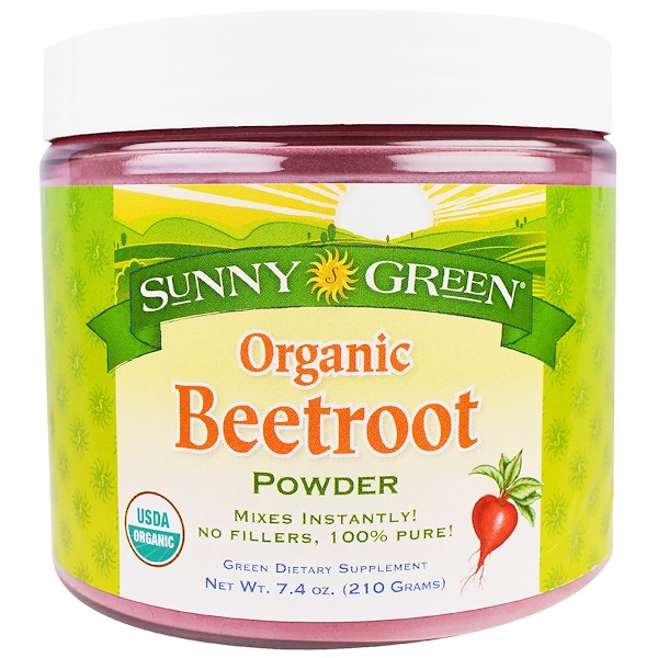 Organic Beetroot Powder, 7.4 oz (210 g)