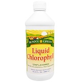 Отзывы о Sunny Green, Жидкий хлорофилл, неароматизированный, 100 мг, 16.2 жид.унции(480 мл)