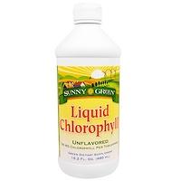 Жидкий хлорофилл, неароматизированный, 100 мг, 16.2 жид.унции(480 мл) - фото