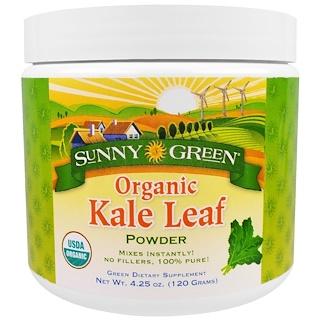 Sunny Green, Biologisches Kohlblattpulver, 4,20 oz (120 g)