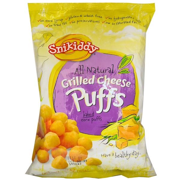 Snikiddy, فطائر مخبوزة بالذرة، بالجبن المبشور، 4 أونصات (113 جم) (Discontinued Item)