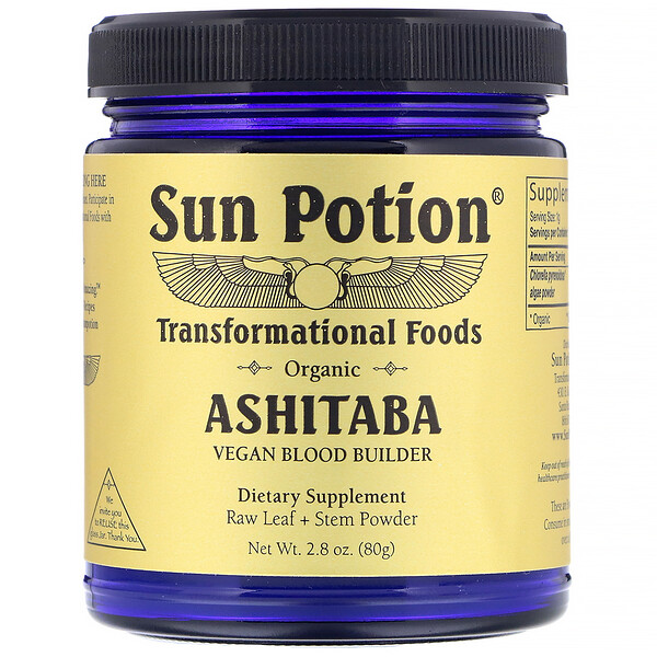 Sun Potion, Organic Ashitaba Powder, 2.8 oz (80 g)