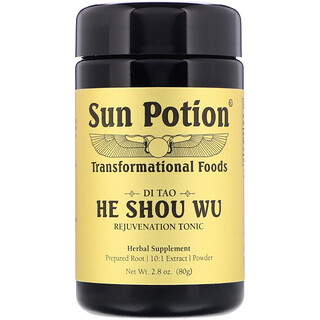 Sun Potion, He Shou Wu Powder, 2.8 oz (80 g)