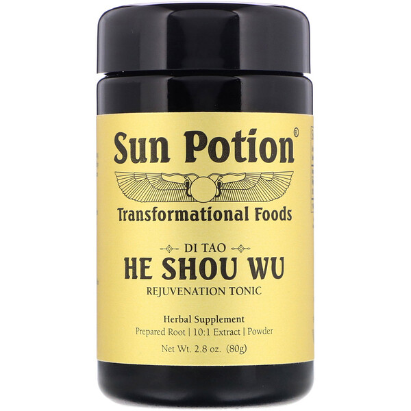 He Shou Wu Powder, 2.8 oz (80 g)