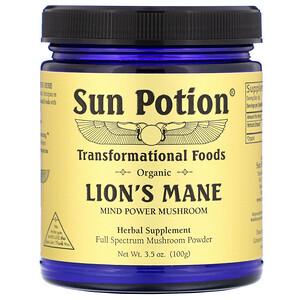 Сан Поушэн, Organic Lion's Mane, 3.5 oz (100 g) отзывы