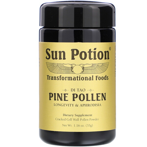 Sun Potion, Pine Pollen Powder, 1.16 oz (33 g)