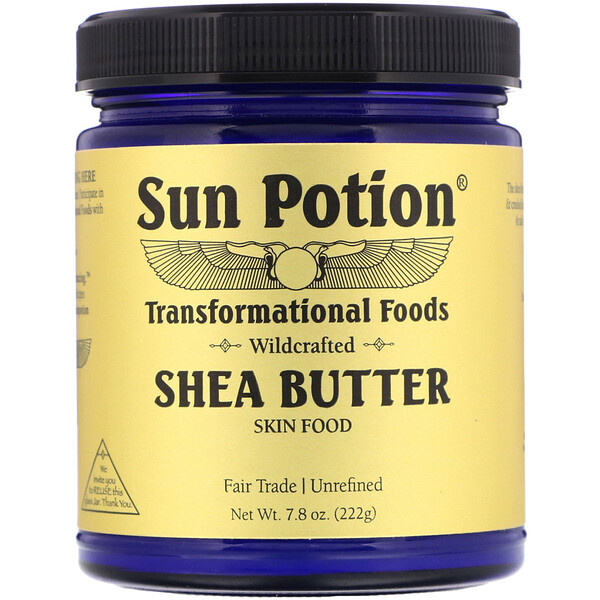Sun Potion, Shea Butter Wildcrafted, 7.8 oz (222 g)