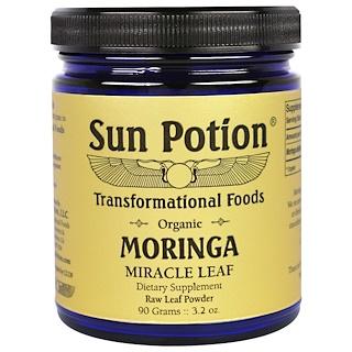 Sun Potion, Moringa Leaf Powder, Organic, 3.2 oz (90 g)