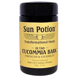 Sun Potion, Eucommia Bark Powder, Wildcrafted, 3.5 oz (100 g)