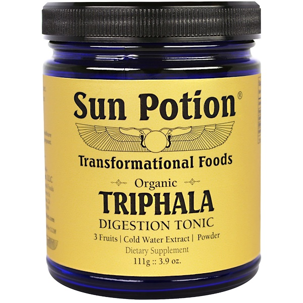 Sun Potion, Triphala Organic Cold Water Extract Powder, 3.9 oz (111 g) (Discontinued Item)