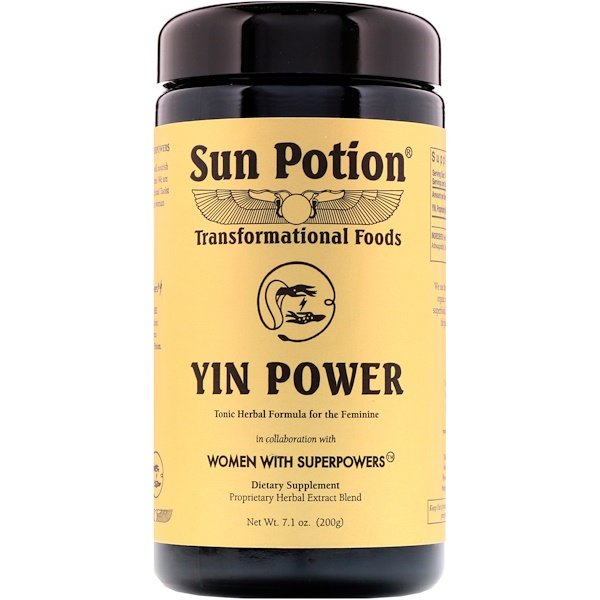 Sun Potion, Yin Power, Women With Superpowers, 7.1 oz (200 g) (Discontinued Item)