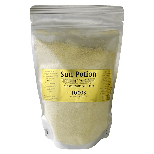 Sun Potion, Organic Tocos Rice Bran Solubles Powder, Small, 0.44 lbs (200 g) (Discontinued Item)