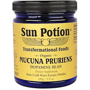 Сан Поушэн, Mucuna Pruriens Powder, Organic, 3.5 oz (100 g) отзывы