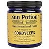 Sun Potion, Cordyceps Raw Mushroom Powder, Organic, 3.5 oz (100 g)