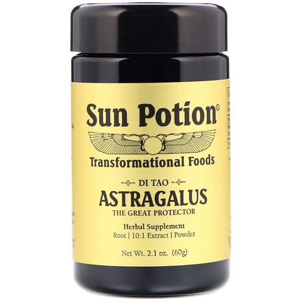 Sun Potion, Astragalus Powder, 2.1 oz (60 g) (Discontinued Item)