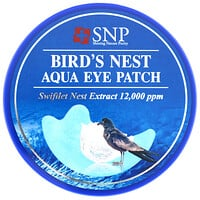 SNP, Bird's Nest Aqua Eye Patch, 60 Patches
