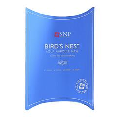 SNP, 燕窩補水安瓶精華美容面膜,10 片,每片 0.84 盎司(25 毫升)