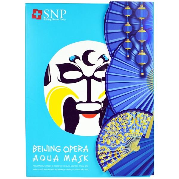 SNP, Beijing Opera Aqua Mask, 10 Masks x (25 ml) Each (Discontinued Item)