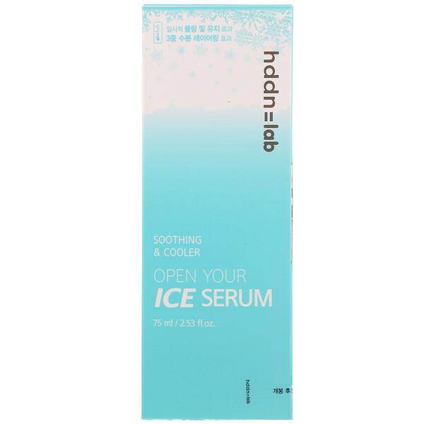 SNP, Hddn Lab, Open Your Ice Serum, 2.53 fl oz (75 ml)